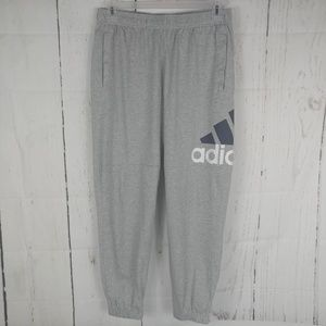 Men's Adidas Logo Pants Sweatpants Joggers